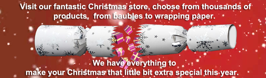 Visit our fantastic Christmas store...