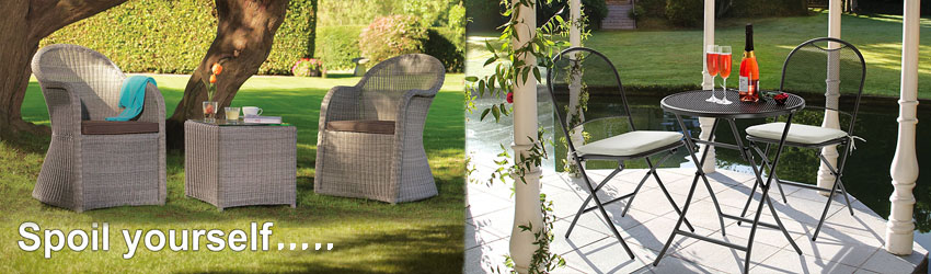 Our biggest range of garden furniture is on sale now.  Buy on-line or in-store to take home today!