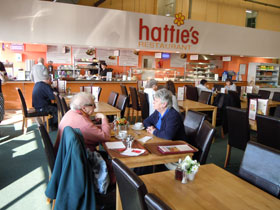Hattie's Bolton - part of the seating area.