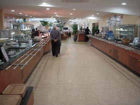 Main serving counter at our Wharfe Valley branch in Otley