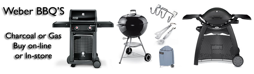 Buy Weber barbecues on-line or in-store to take home today... at internet prices!